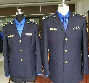 朝阳警察标志服美观舒适