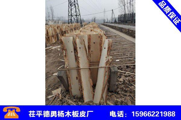 四川德阳包装箱用杨木板皮