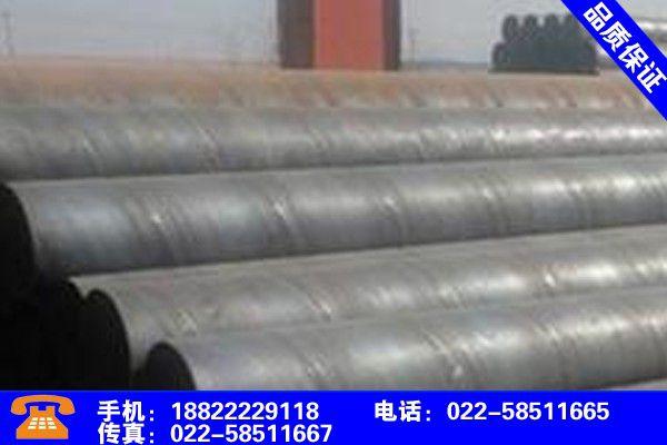 甘肃张掖防腐螺旋钢管项目范围