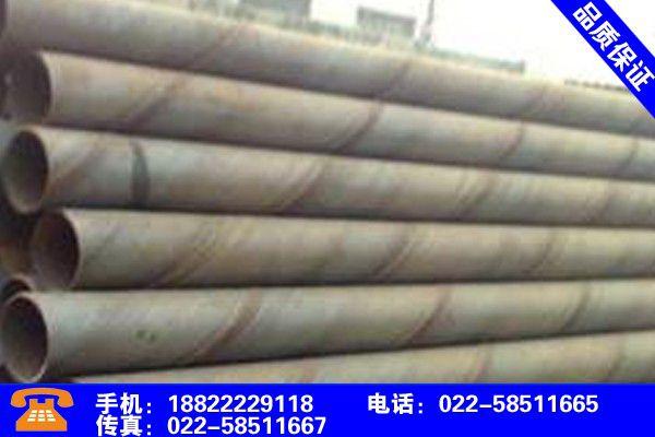 螺旋钢管标准dn螺旋钢管品保