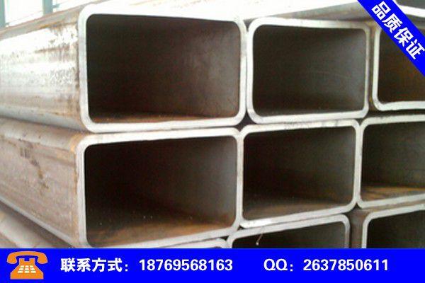 达州渠县q345b无缝方管大厂品质