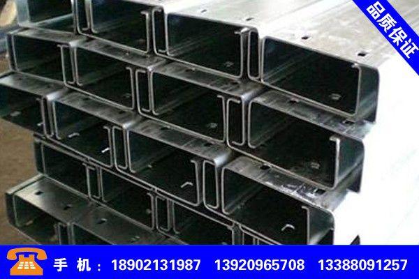 银川贺兰z型钢搭接方式产品性能发挥与失效