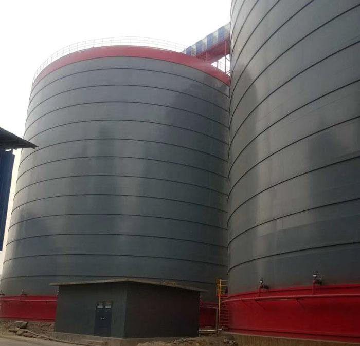 烏蘭察布集寧鋼板倉建造造價低