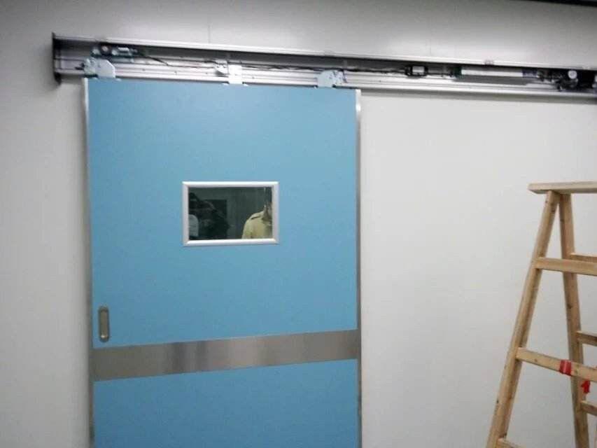 吉安峡江高明感应门安装使用与操作