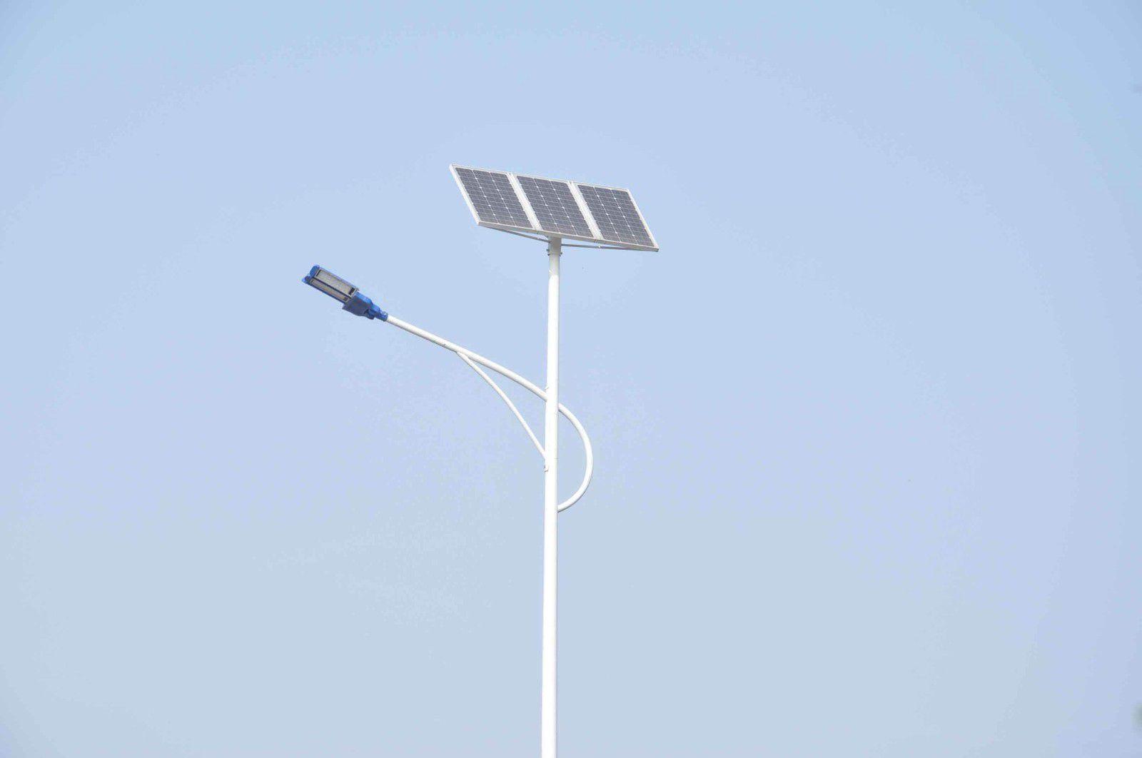 哈尔滨平房区太阳能路灯的现状分析系统组成