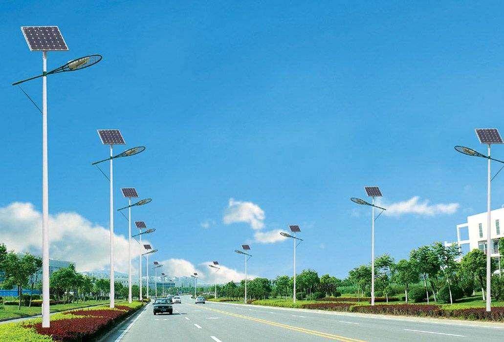 山西省忻州市原平市太阳能路灯的应用前景优