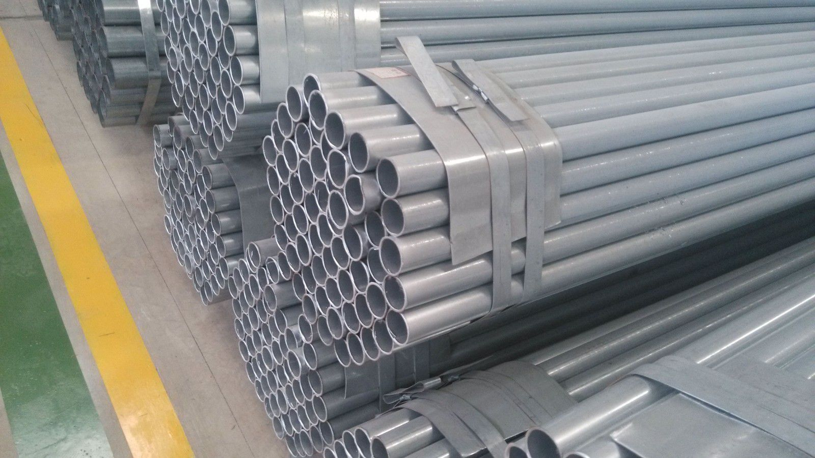 天津滨海新镀锌管镀锌层厚度产品规格齐全