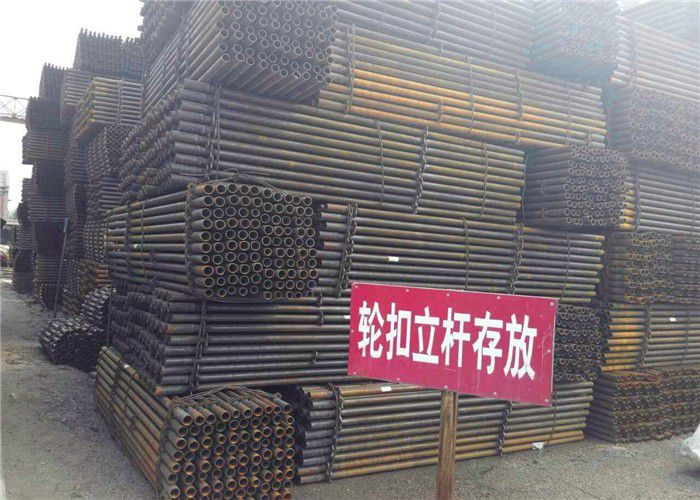 徐州新沂刷黄色油漆排山管