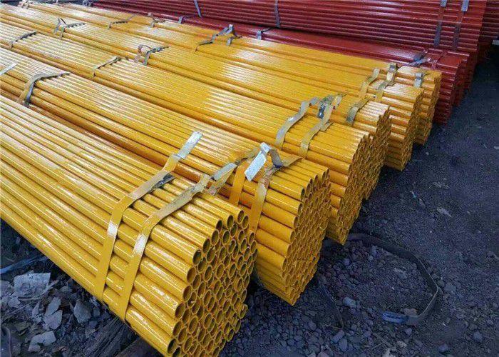 宜昌西陵区工程支架用悬吊式脚手架钢管