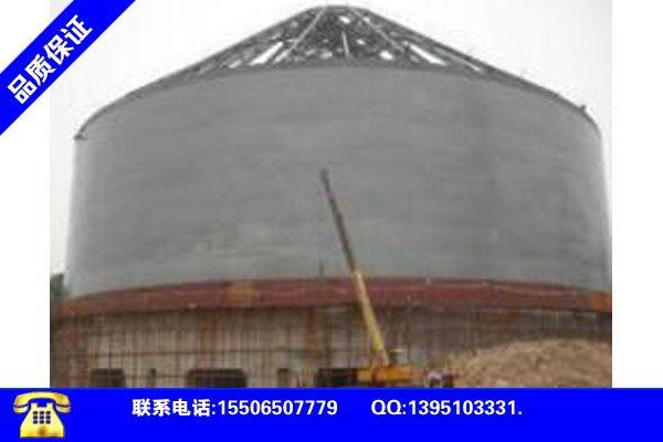 抚顺大型粉煤灰仓设计制作 山东国华钢板库建设