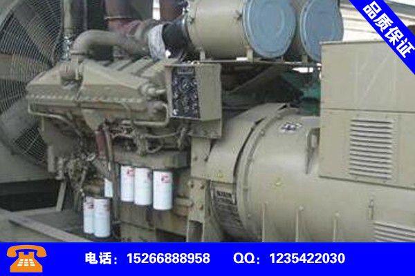 哈尔滨尚志发电机出租公司行业面临着发展机