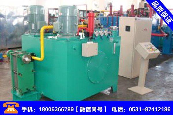 新疆喀什人造板液壓站分析