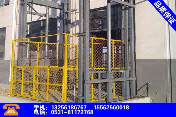 云南迪庆升降货梯厂家发展新篇章