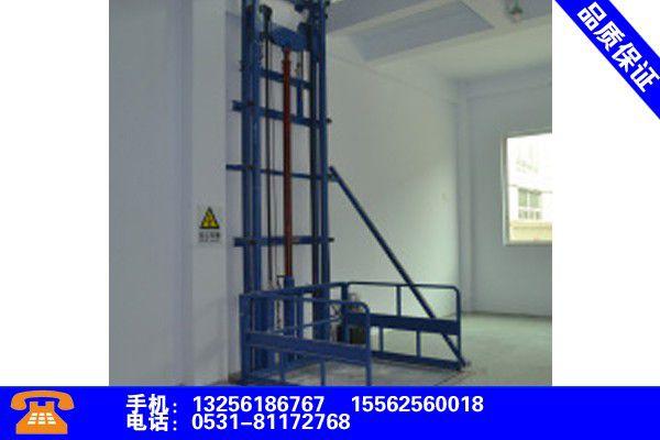 天津宁河升降货梯电路客户至上