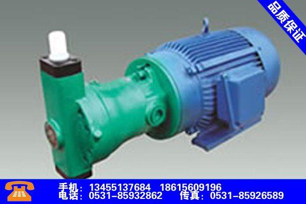 广东湛江高压柱塞泵标准生产供应