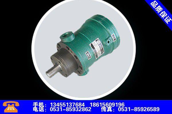 保定清苑高压柱塞泵型号价格制造商