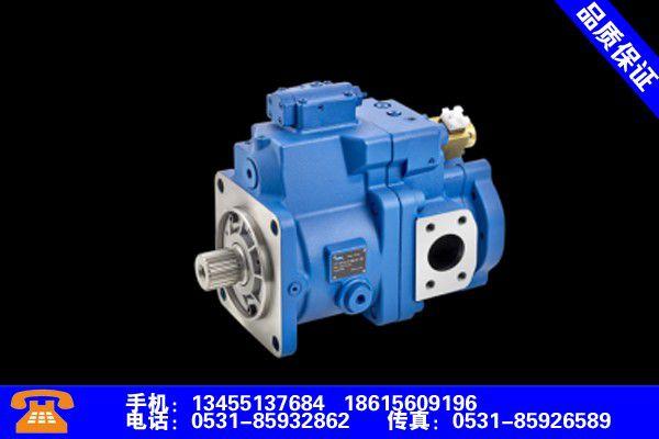 临汾隰县高压柱塞泵定制追求卓越