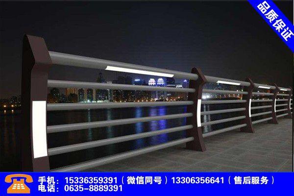 桂林恭城河道灯光护栏行情仍受看好