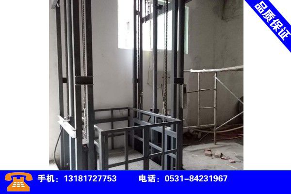 广东江门液压升降货梯批发行业发展新趋势