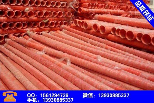 张家口增强钢带管多少钱一米