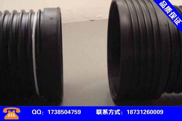 北京海淀聚乙烯钢丝网骨架管行业发展新趋势