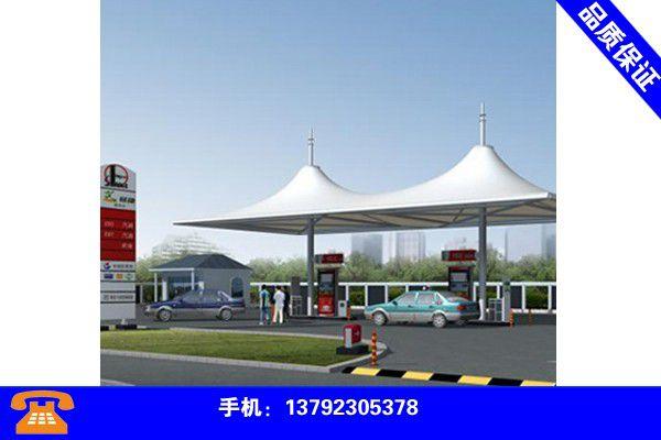 广西贺州膜结构车棚安装新价格行情