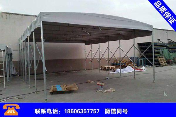 庆阳庆城推拉遮阳雨棚价格走势如何