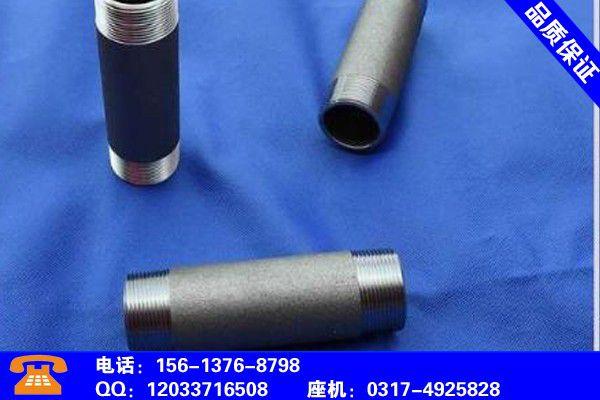 唐山路南碳钢钢管外丝品质风险