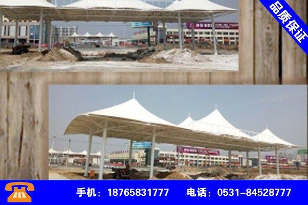 凉山彝族冕宁膜结构停车棚的膜行业展望