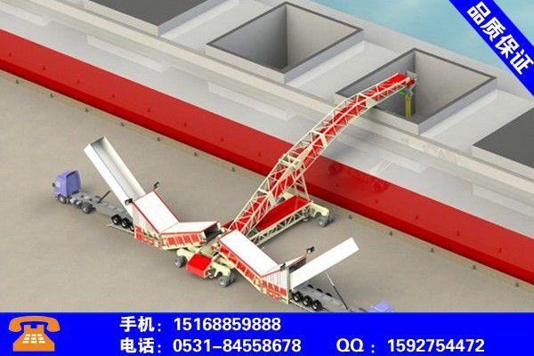 郴州安仁斗轮堆取料机技术创新