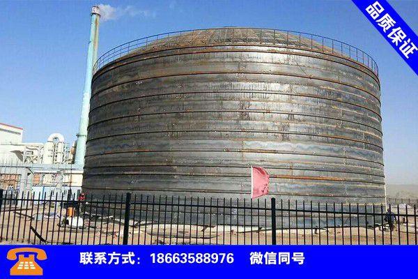 梅州五华螺旋钢板仓详情