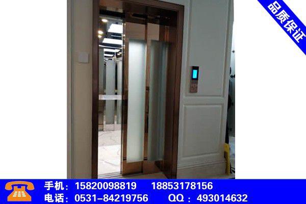 蚌埠淮上一个层小型电梯多少钱市场