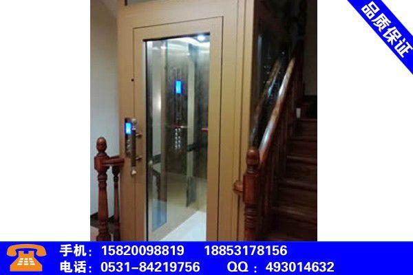 齐齐哈尔龙沙小型简易家用电梯提货形式
