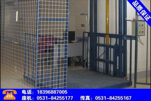 咸阳渭城导轨链条式升降货梯解读观察