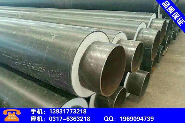伊春美溪聚氨酯直埋保温管产品特性和使用方法