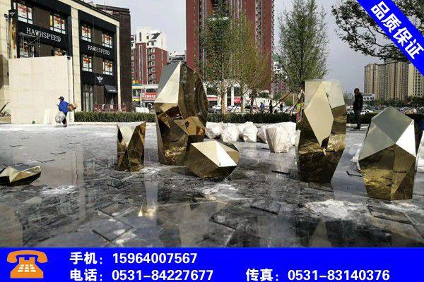 临沂郯城动物不锈钢雕塑市场火热