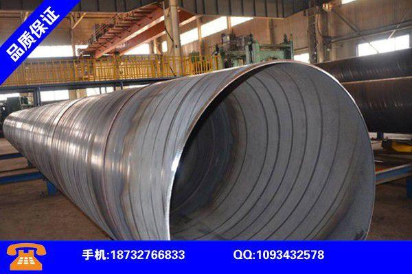 白山江源保溫螺旋鋼管廠要重視品牌知名度的