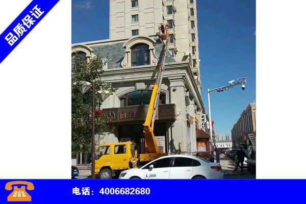 江苏连云港高空车业车出租企业产品