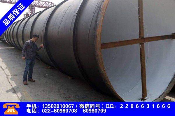 韶关浈江焊管的规格型号产品调查