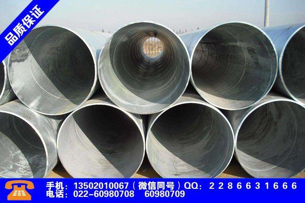 赤峰巴林右旗48焊管品质文件
