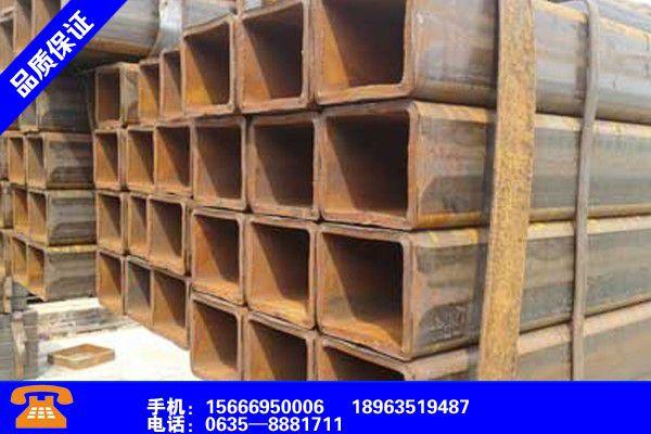 宜宾珙县Q355D无缝方矩管产品的生产与