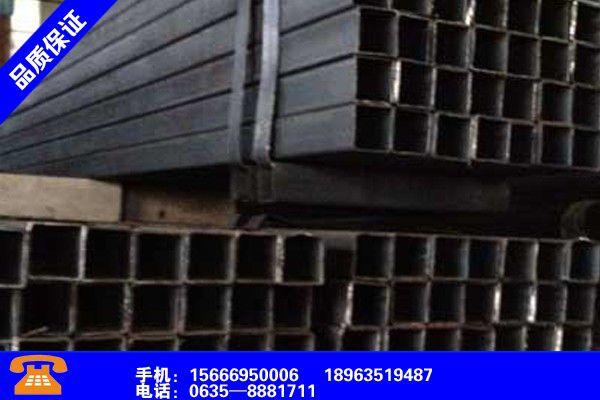 黑龙江双鸭山S355J0H方管市场格局