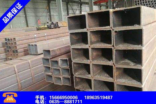 衢州柯城S355J2H方管行业发展现状及
