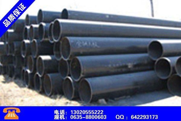 河北廊坊螺紋鋼管小屈服強度生產