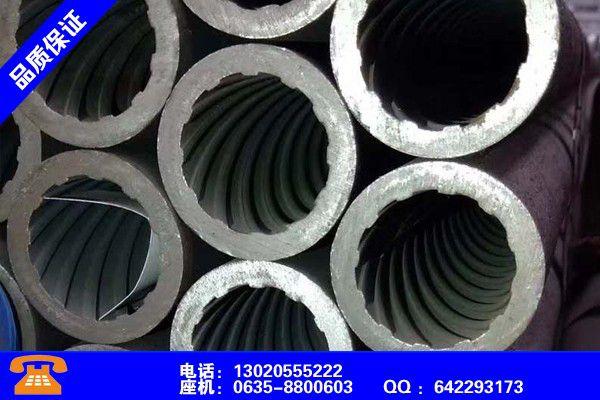 龙岩永定螺纹钢管画法发展所需