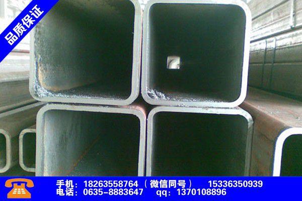 青岛胶州Q235B矩形管行业凸显