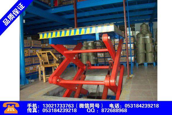 汉中宁强导轨式升降机厂家直销市场价格