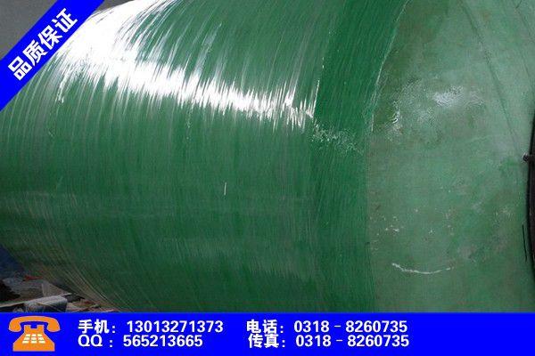 甘孜藏族康定玻璃钢化粪池的管子安装图片战