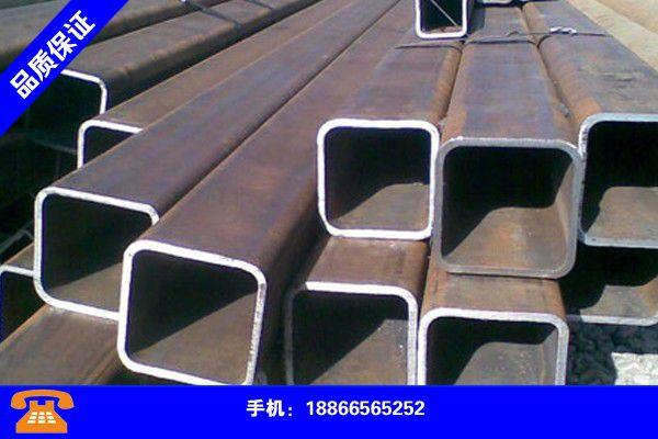 南京江宁矩形管规格重量表大全价格总体稳定