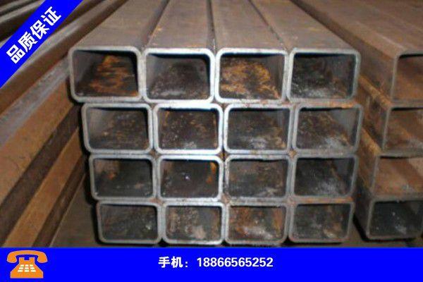 扬州高邮矩形管规格尺寸表新报价